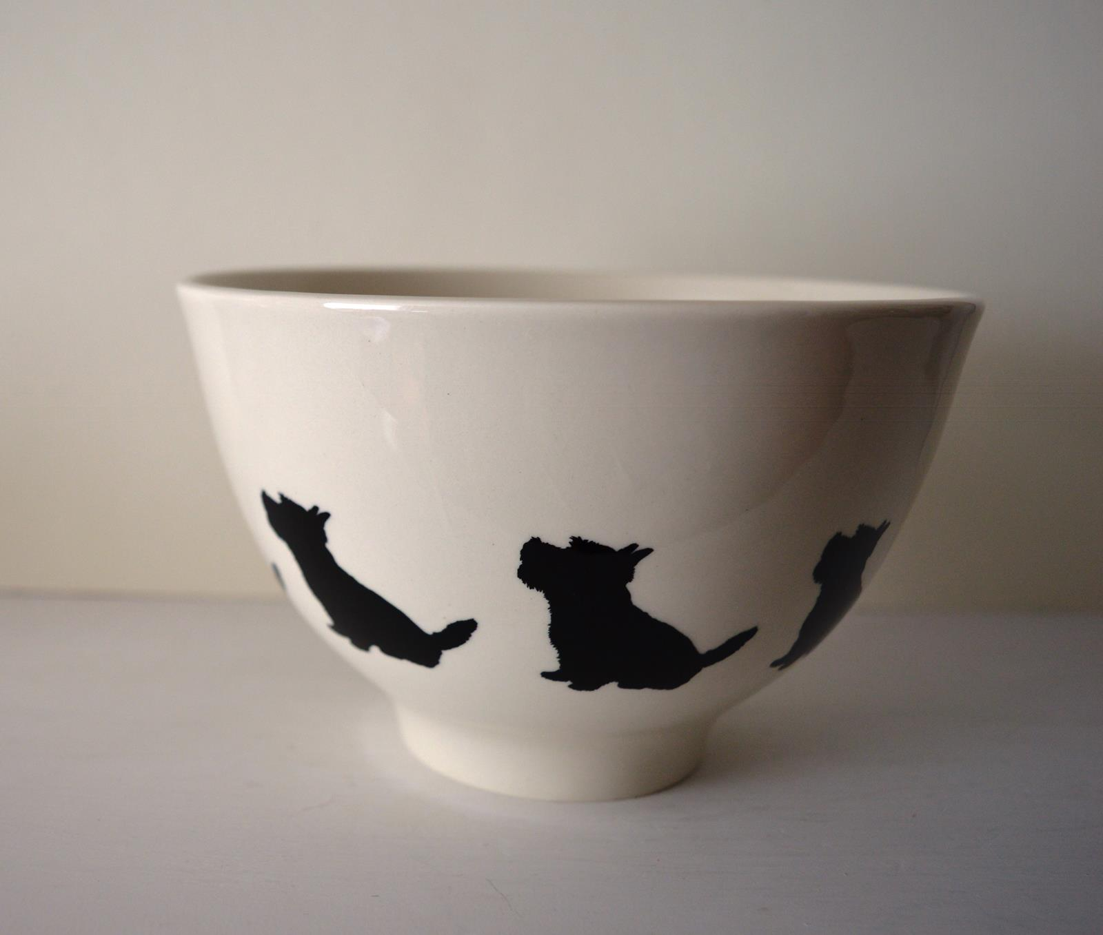 Deep Footed Bowl